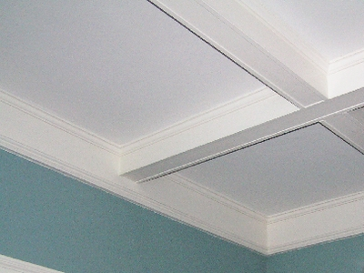 Pictures of coffered ceilings coffered ceiling beams for Foam coffered ceiling